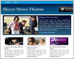 Шаблон Skyye News