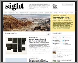 "Wordpress шаблон ""Sight"""