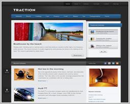 "Wordpress шаблон ""Traction"""