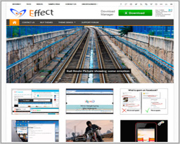 Wordpress шаблон Effect